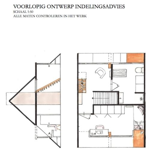 zolder onderwerp-jaren 30 midden huis-indeling